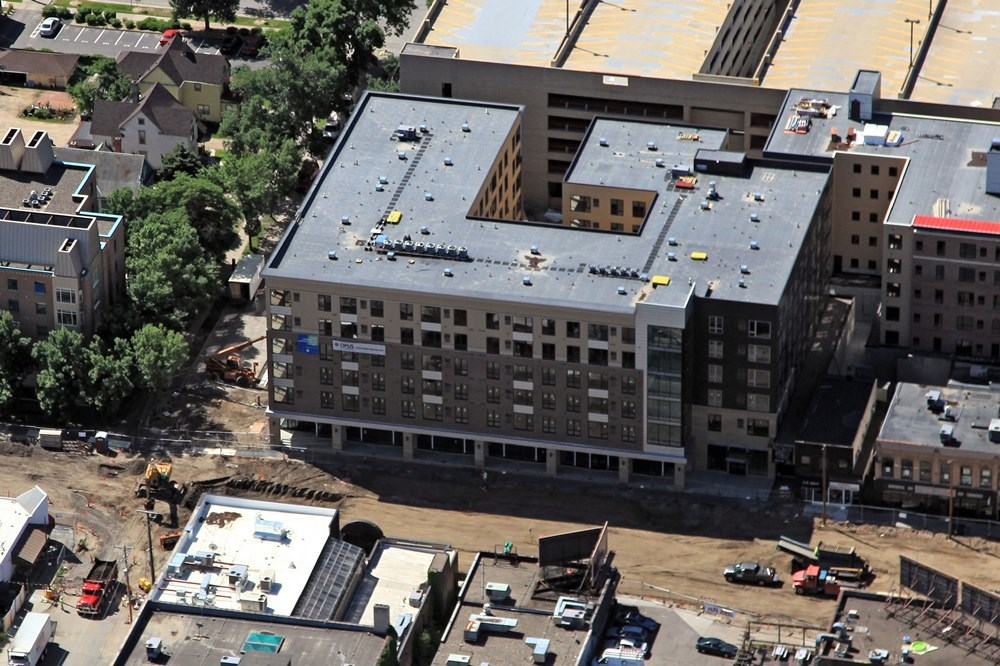 Opus Design Build's expertise in residential construction allows them to succesfully complete student housing projects.