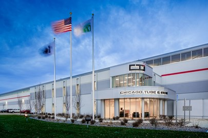 Opus Design Build LLC used its design-build approach to partner with Chicago Tube & Iron on an industrial expansion.