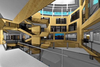 BIM, Building Information Model, Architectural Design, Commercial Architecture, Opus AE Group
