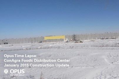 ConAgra Foods, distribution center, industrial construction, Indiana construction, design build