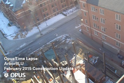 student housing construction, student housing, time-lapse video