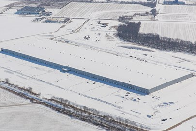 ConAgra Foods, distribution center, industrial construction