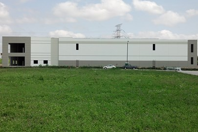 exterior work on Paragon Business Park in suburban Chicago