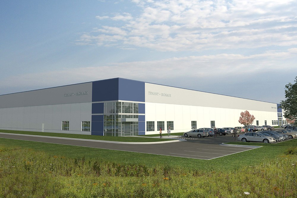 Gateway industrial Center, design build by Opus