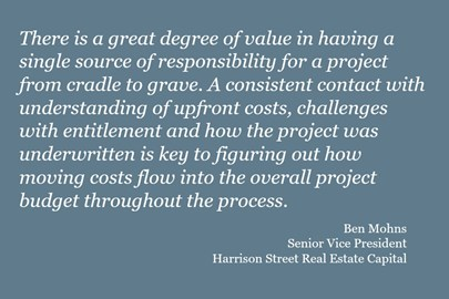 quote about student housing development