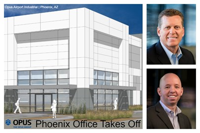 Development Takes Off in Phoenix with Opus Airport Industrial Spec