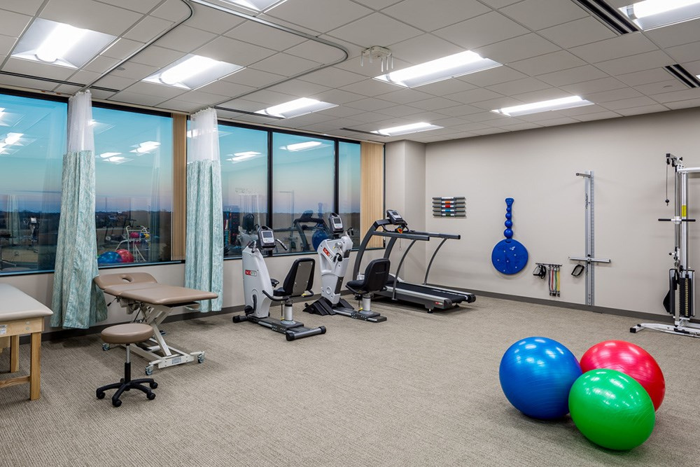 corporate wellness center tenant improvement