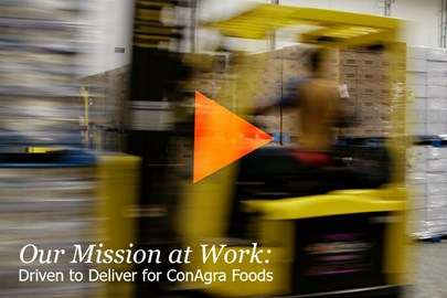 The Opus Group is Driven to Deliver for ConAgra Foods.
