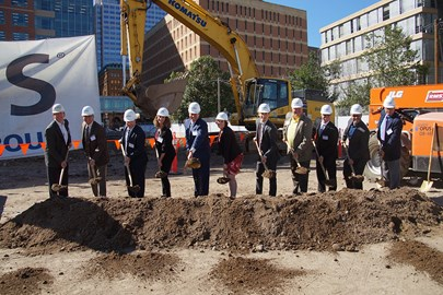 365 Nicollet Groundbreaking Ceremony