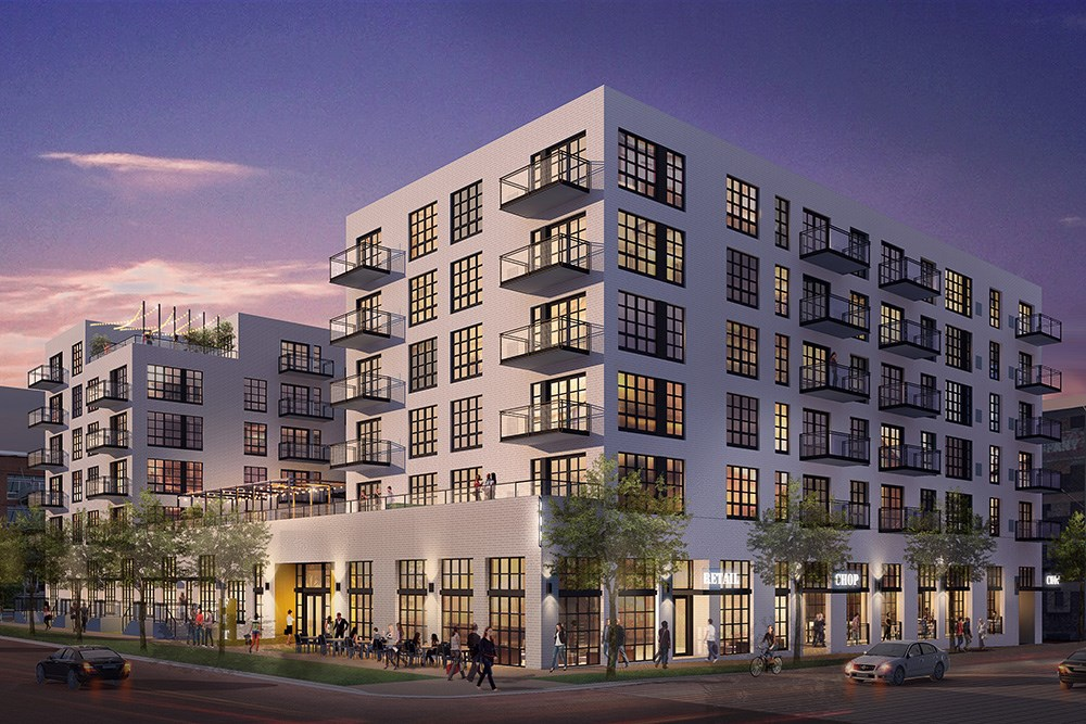 Rendering of Opus and Greco's North Loop Residences, Minneapolis