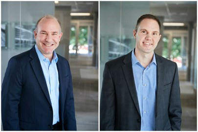Brett Hopper, Senior Director and Matthew Visnansky, Real Estate Manager for Opus Development Company, L.L.C.