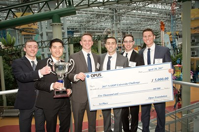 The Opus Foundation continued to support winners of NAIOP's University Challenges this year.