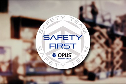 The Opus Group strives to look for new construction practices that can help to keep workers and the general public safer.