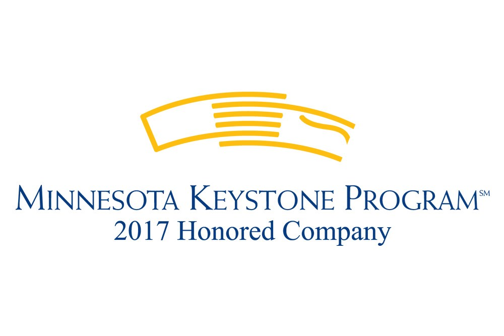 Opus has been named a 2017 Minnesota Keystone Honored Company in the medium category!