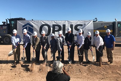 We worked closely with the project community in Mesa to deliver a first-rate speculative industrial development.
