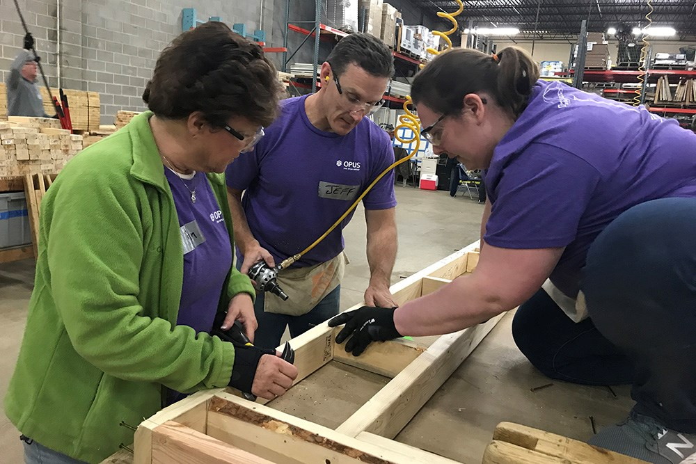 We held the 7th annual Founder's Day on Friday, April 20, with associates company-wide volunteering with local Habitat for Humanity or Rebuilding Together affiliates.