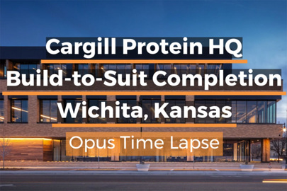 Cargill Protein Headquarters, built by Opus