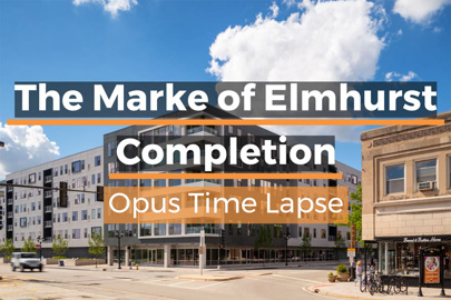 completion video of The Marke of Elmhurst, built by Opus