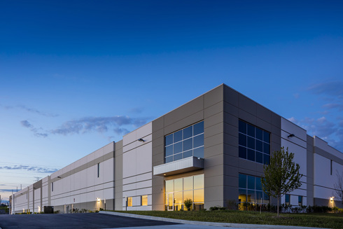 Opus' Paragon Business Park Spec Industrial in Romeoville, IL