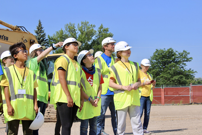 Opus Future Builders Construction Career Pathways Learn2Build Camp