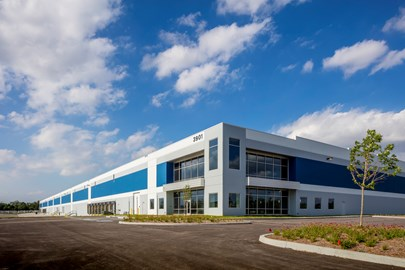 Indianapolis industrial warehouse development by Opus