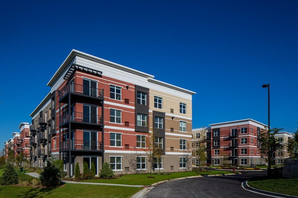 Avant at the Arboretum, suburban residential construction, multifamily construction