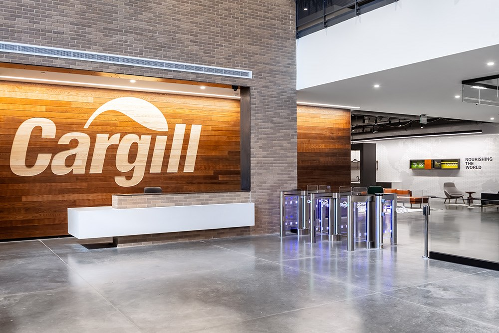 Cargill Wichita build-to-suit constructed by Opus Design Build, L.L.C.