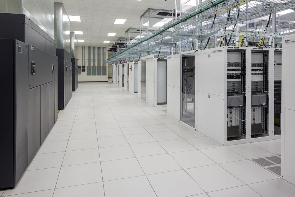 Interior photo of Charter Communications industrial flex in Compark