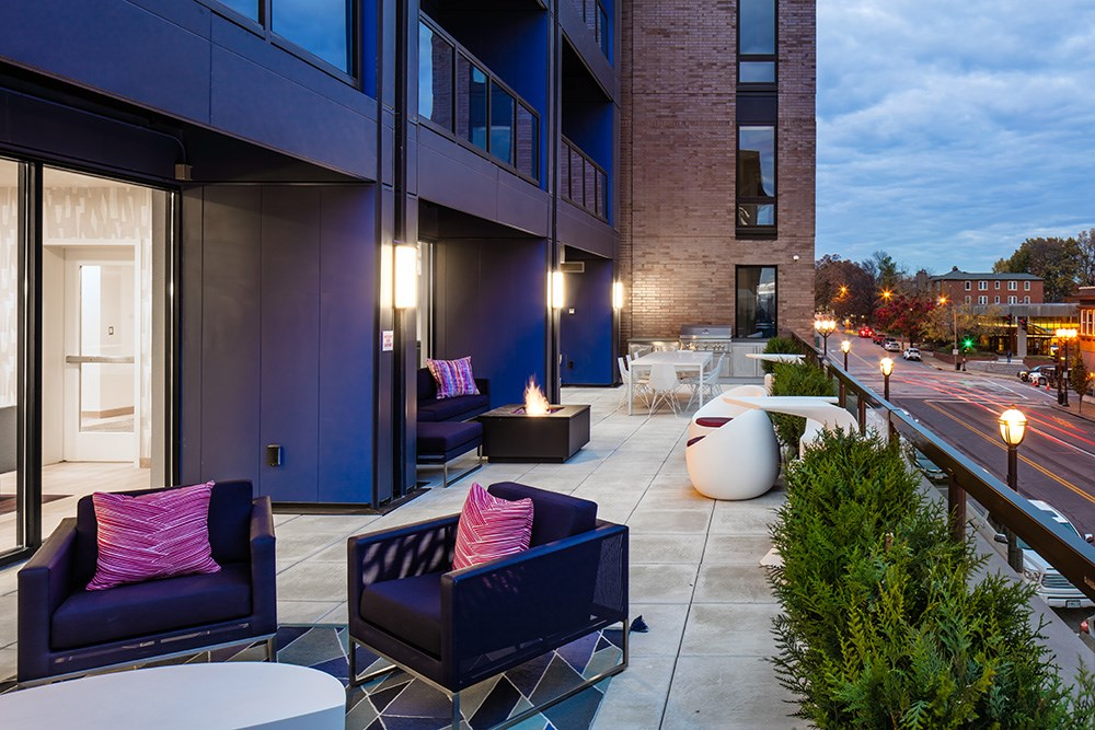 Ceylon Luxury Apartments in Clayton, MO by Opus