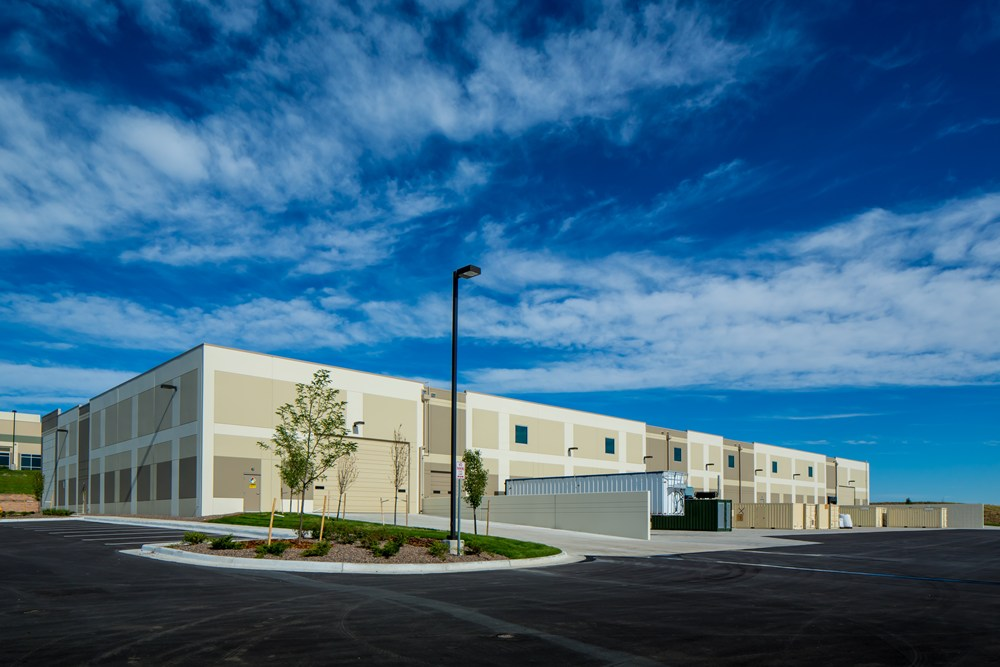 Community Power Corporation's warehouse was developed by Opus Development Company.