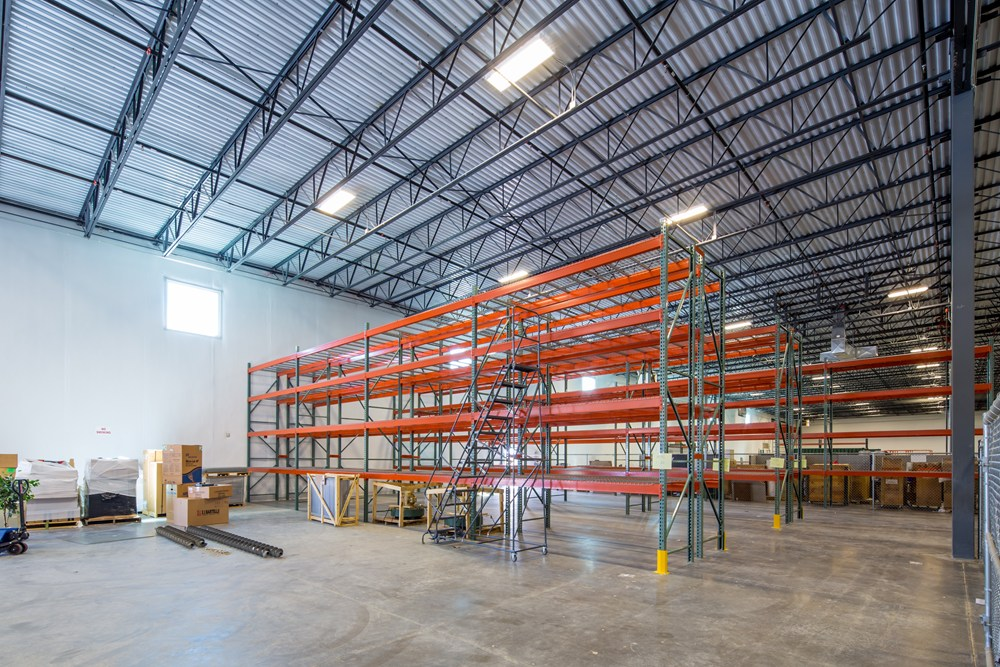 Community Power Corporation's warehouse was developed by Opus in Compark Business Center.