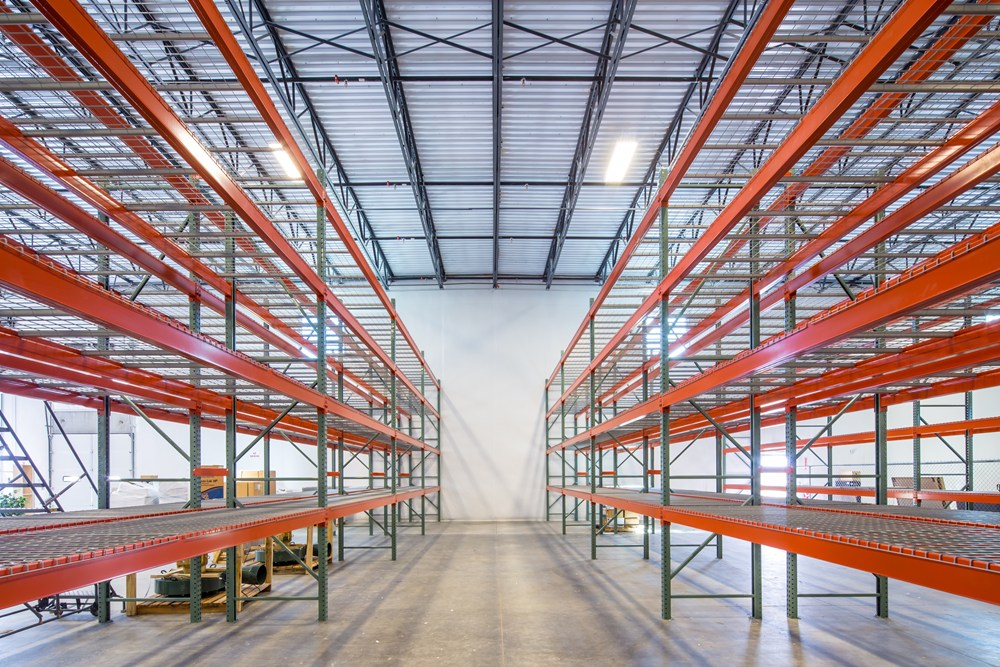 Opus used its unique design-build approach to construct Community Power Corporation's warehouse.