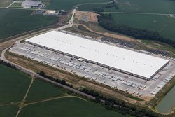 ConAgra Foods warehouse aerial photo, developed, designed and built by Opus