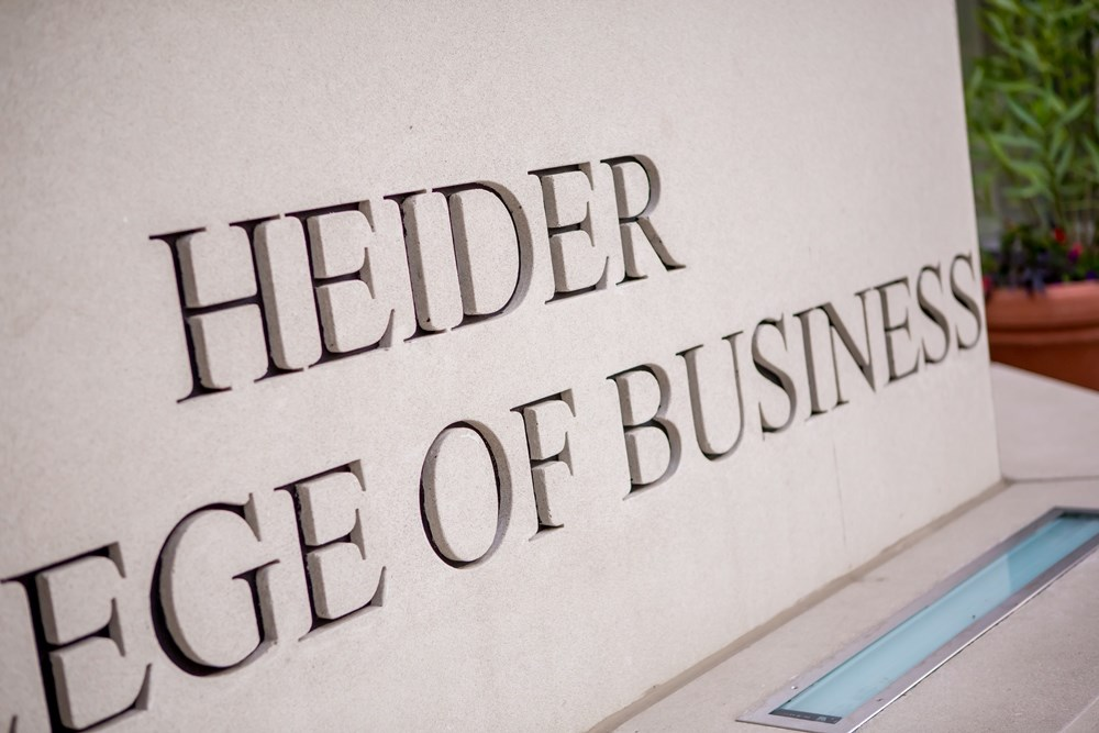 Creighton University's Heider College of Business moved to the Harper Center with The Opus Group's help.