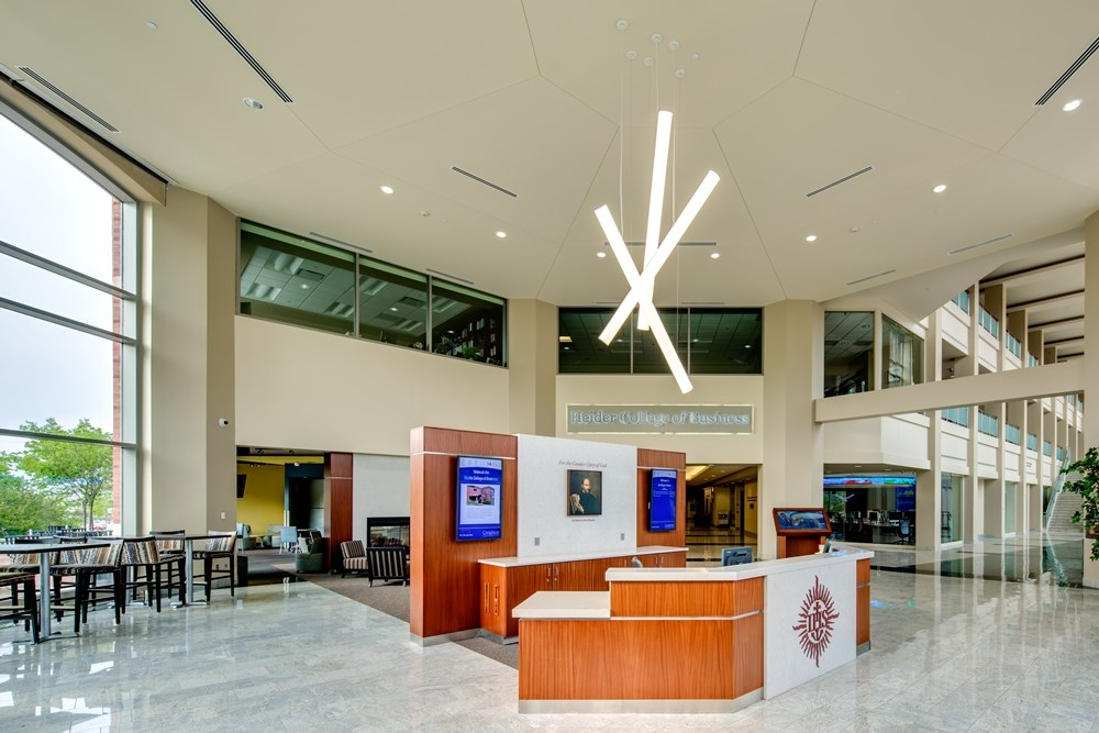 Creighton University's Harper Center was renovated by Opus Design Build and Opus AE Group.