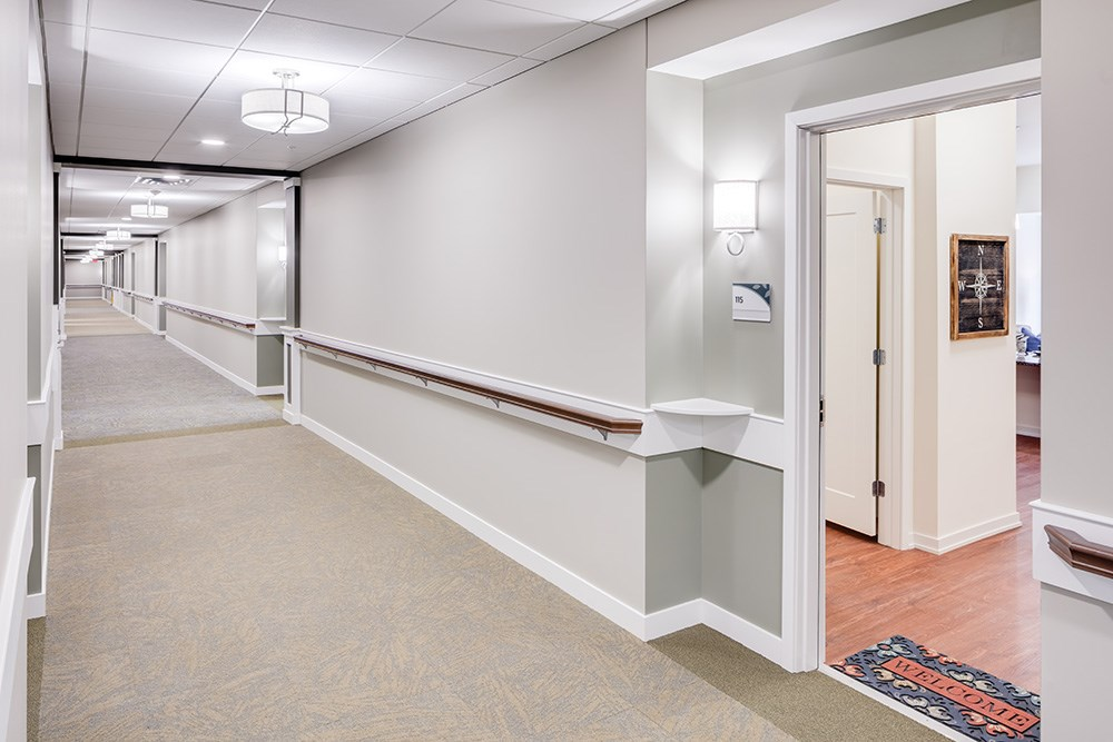 hall of Orchards of Minnetonka senior living facility in Minnesota