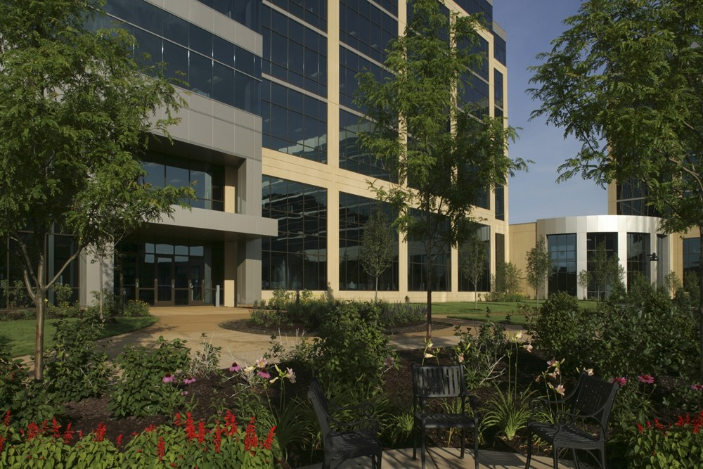 Excelsior Crossings, suburban office campus, suburban office development