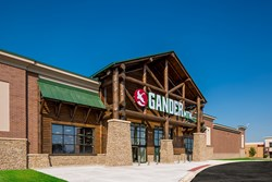 Gander Mountain, retail construction,