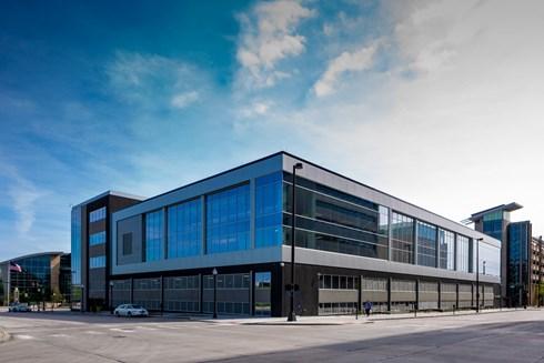 Gavilon world headquarters news the opus group for Office 606 design construction llc
