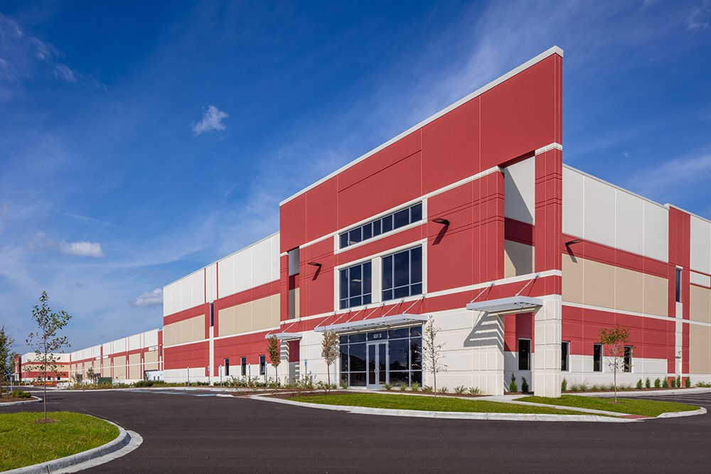 Greenpointe Logistics Center, a spec industrial development by Opus and Diamond Realty Investments