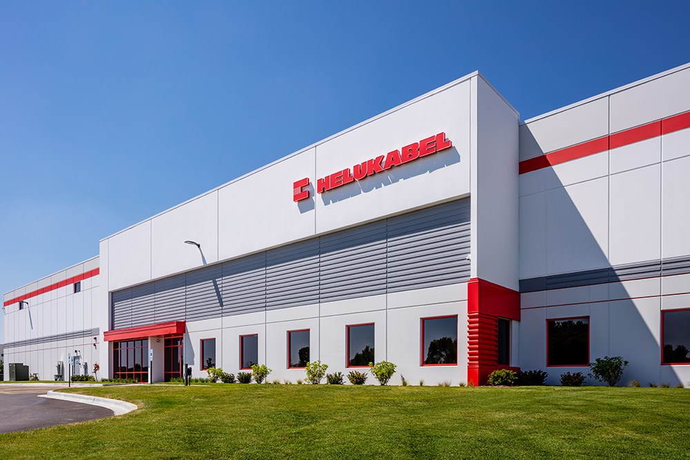 HELUKABEL USA Inc. Build-to-Suit in Oakview Corporate Park in West Dundee, Ill., by Opus