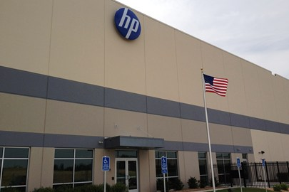 Hewlett Packard, industrial construction, industrial warehouse