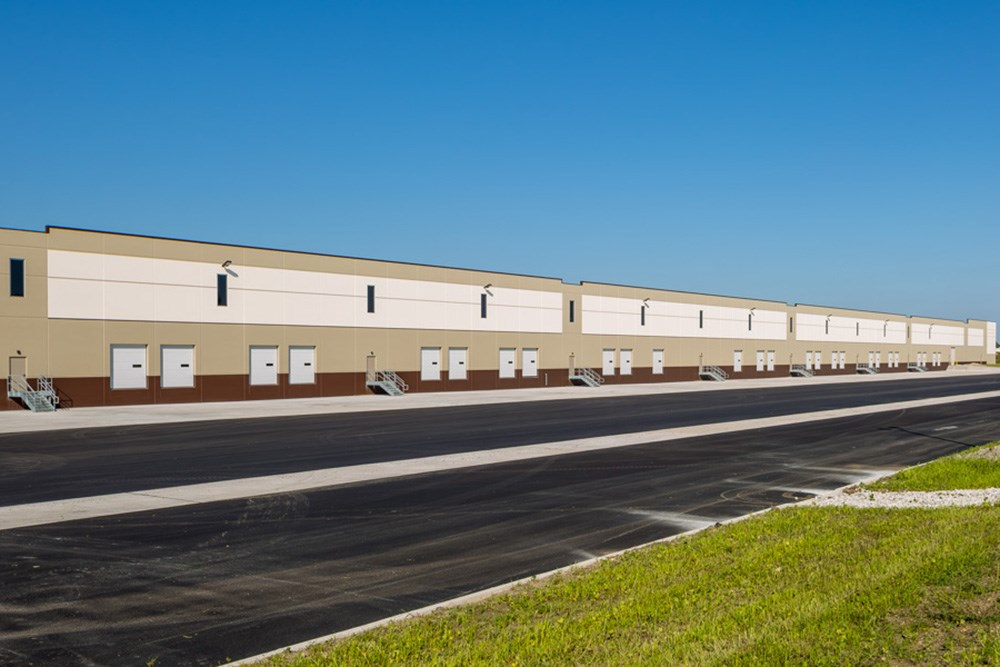 I-88 Gateway Logistics Center, warehouse, distribution, industrial construction, north aurora