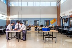 Saint Thomas Academy Innovation Center designed & built by Opus