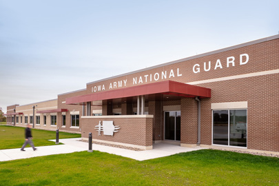 Iowa Army National Guard Readiness Center in Davenport