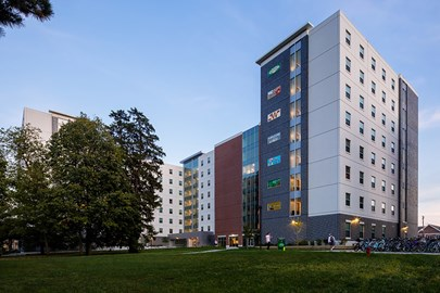 ISU's new residence hall