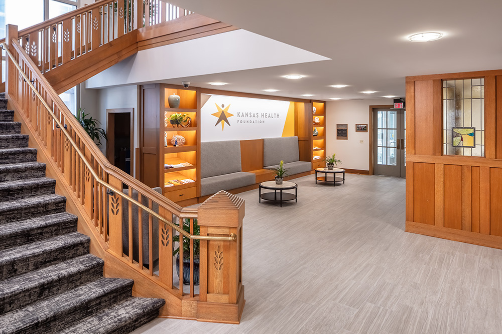 Kansas Health Foundation lobby