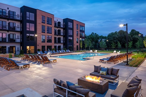 The Loden apartments in Edina, Minn.