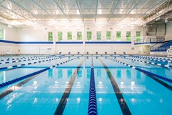 Luther College Aquatic Center, insitutional construction, athletic facility construction