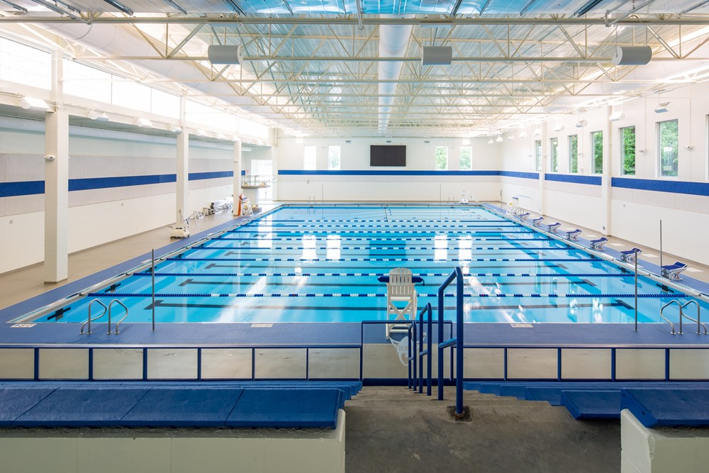 Luther College Aquatic Center Construction The Opus Group